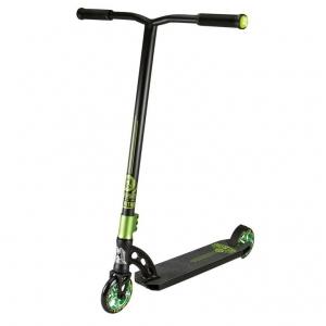 Stuntscooter Madd VX7 Nitro verde, ruedas 120mm