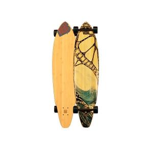 Bamboo Skateboard Tidal rider - Longboard square tail