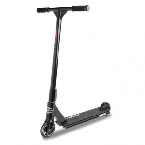 City Scooter Fuzion Z375 black Alu negro
