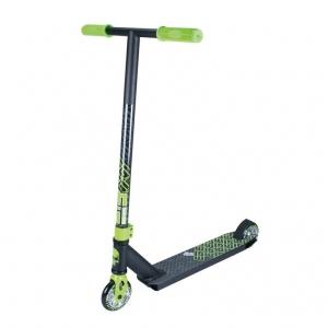 Stuntscooter Madd Kick Xtreme verde negro ruedas 100mm