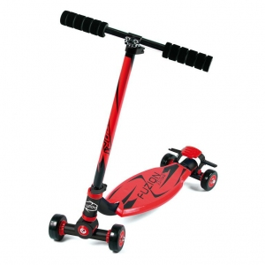 City Scooter Fuzion Sport Red Alu trojo/negro