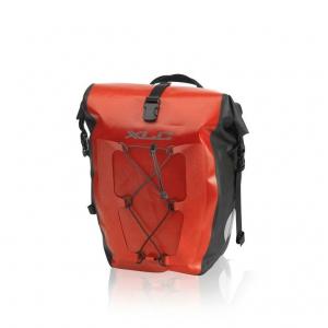 XLC Set de bolsas únicas impermeable rojo