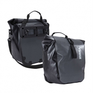 Bolsa Thule Shield Pannier par dark shadow, Small NEGRA/GRIS