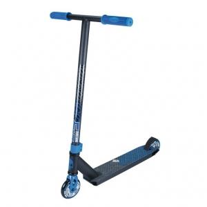 Stuntscooter Madd Kick Xtreme azul negro ruedas 100mm