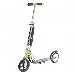 City Scooter Big Wheel Hudora verde-azul