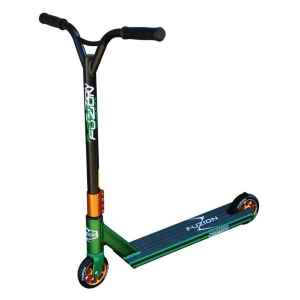 City Scooter Fuzion Z350 green Alu verde/cobre