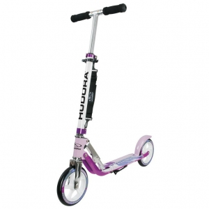 City Scooter Big Wheel Hudora Alu 8 lila