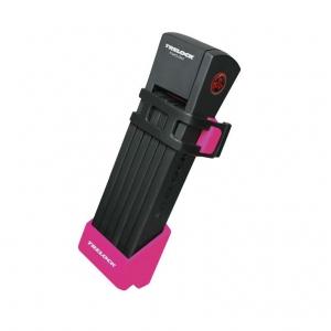 Antirrobo Trelock  con soporte rosa