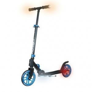 Scooter Hudora aluminio/acero 8 200 efecto de luz led