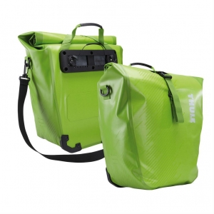 Bolsa Thule Shield Pannier par chatreuse, Small VERDE