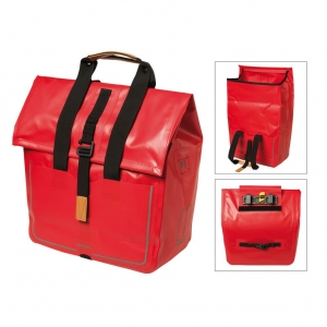 Bolsa Shopper Basil Urban Dry impermeable signal red 20 litros