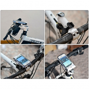 Funda movil bici LOTUS Blanca