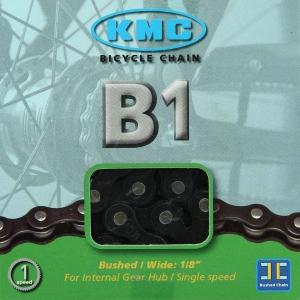 Cadena KMC B1 112 Pasos 1V Color negro