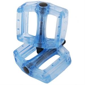 Pedales BMX/ Fixie Wellgo resina Azul