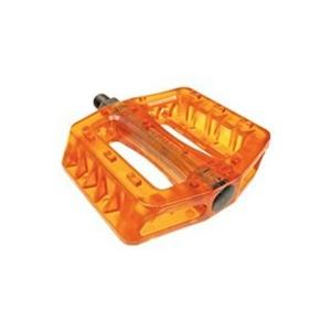 Pedales BMX/ Fixie Wellgo resina Naranja