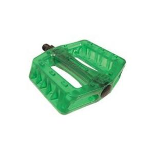 Pedales BMX/ Fixie Wellgo resina Verde